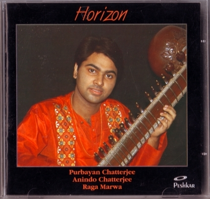 CD Cover Purbayan Chatterjee, Horizon (front)